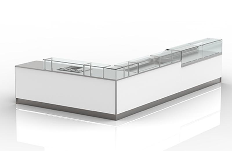 Inox Pack - Arredamenti per Passione - Prodotti - Banchi Bar - Modelli